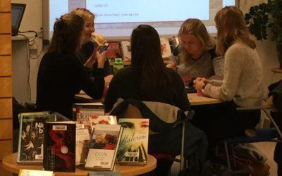 Samarbeid fylkesbiblioteket og VGS skolebibliotek