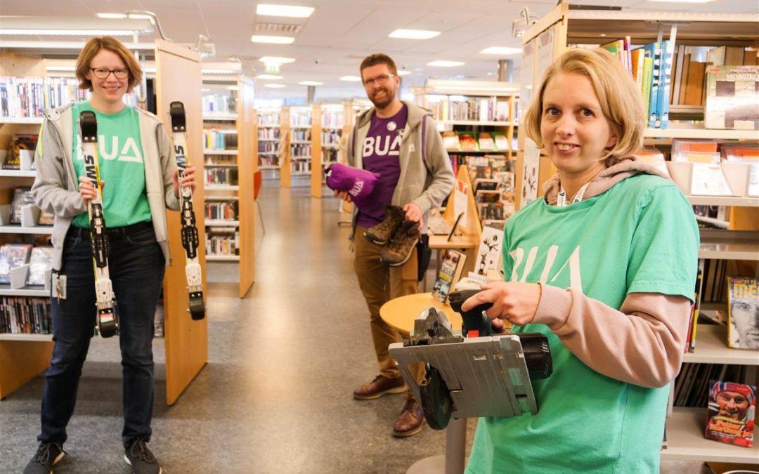 Bibliotek som motor for mer bærekraftig forbruk