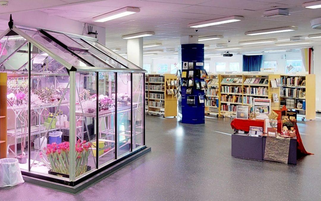 3D-filming av bibliotekene i Viken